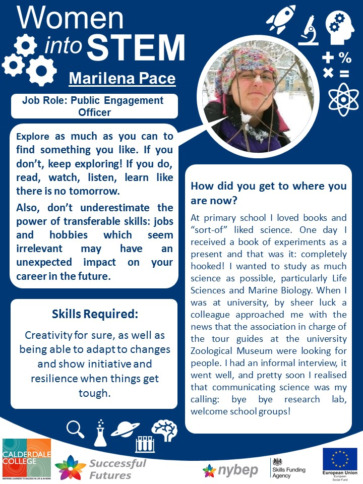 Public Engagement Officer - Marilena Pace