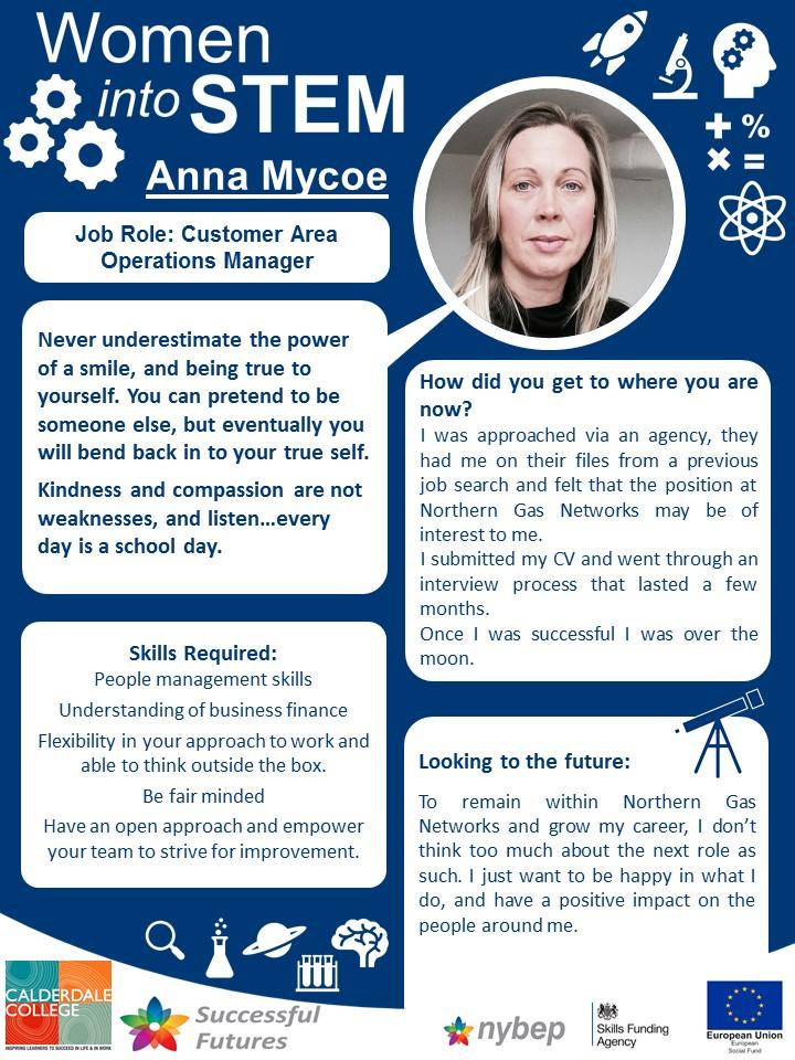 Operations Manager - Anna Mycoe