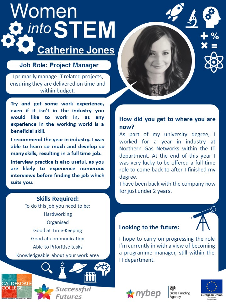 Project Manager - Catherine Jones