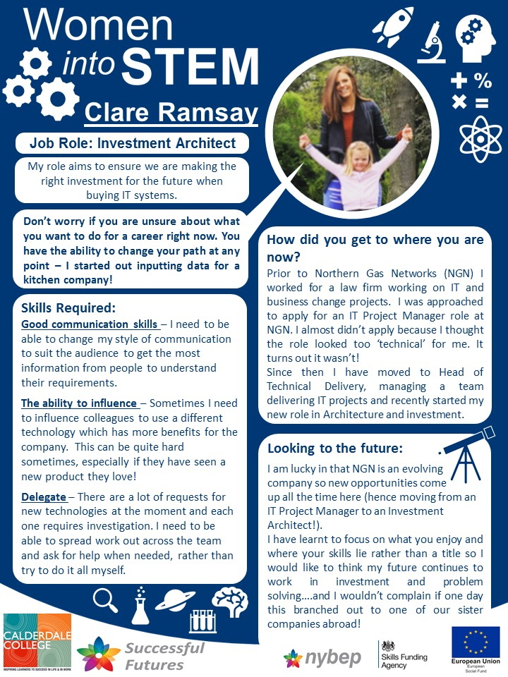 Investment Architect - Clare Ramsay