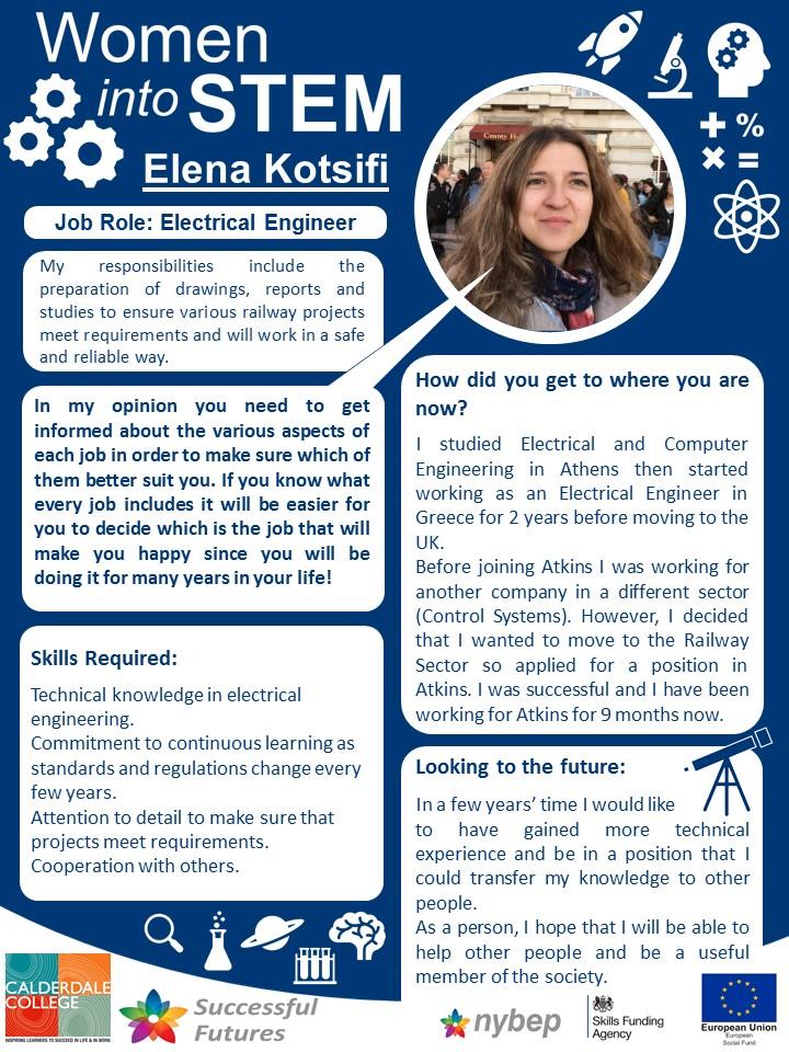 Electrical Engineer - Elena Kotsifi