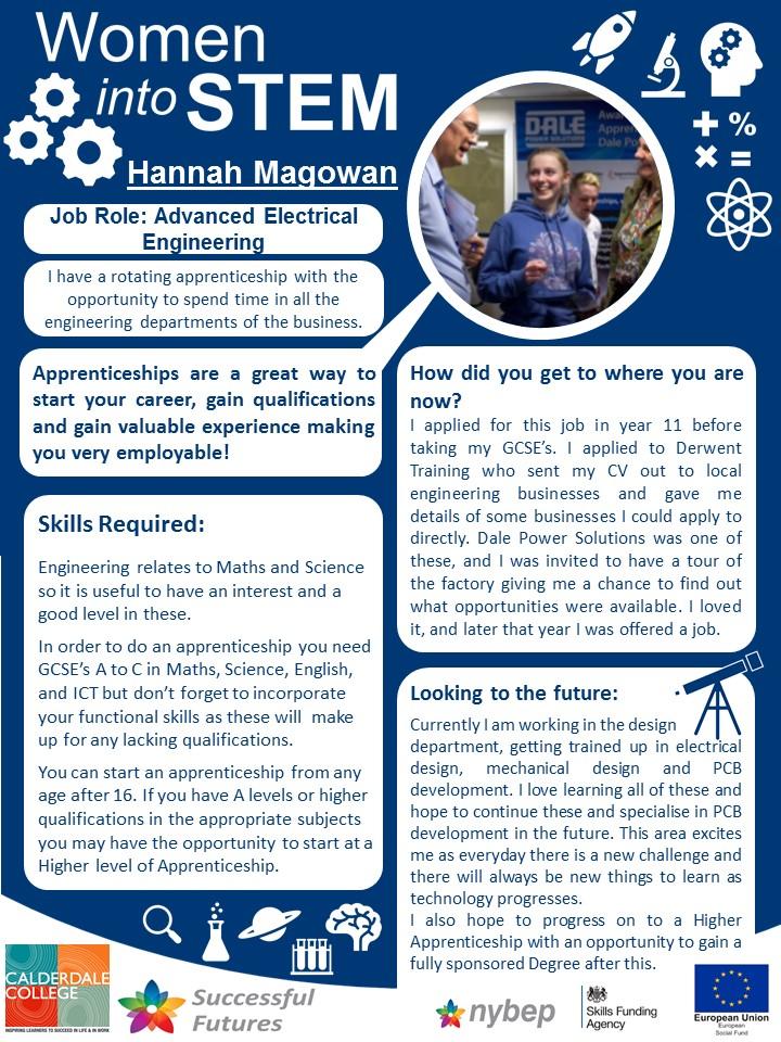 Electrical Engineer - Hannah Magowan