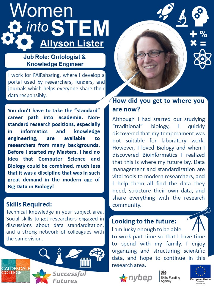Ontologist and  Knowledge Engineer - Allyson Lister