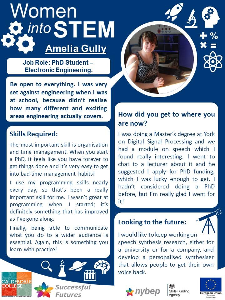Engineering PhD Student - Amelia Gully