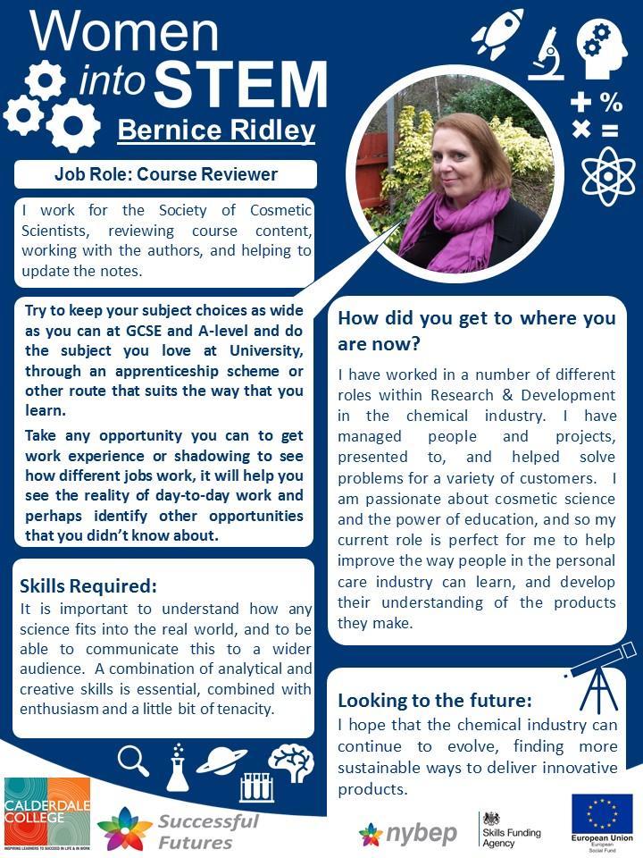 Course Reviewer - Bernice Ridley