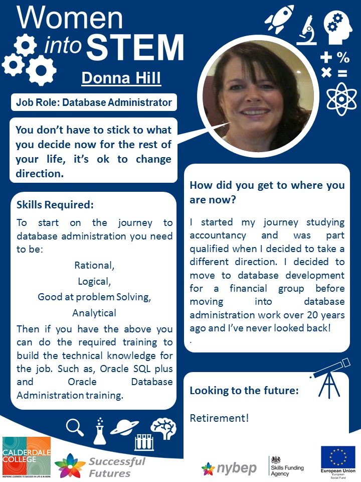 Database Administrator - Donna Hill