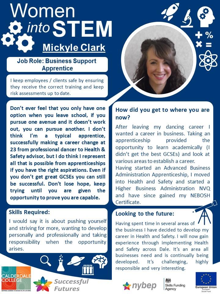 Business Support Apprentice - Mickyle Clarke