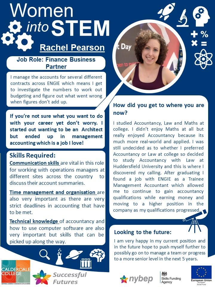 Financial Business Partner - Rachel Pearson